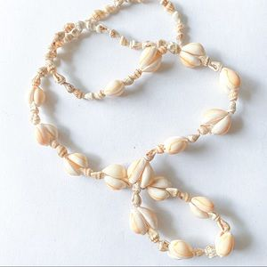 Vintage Hand Made Shell Necklace